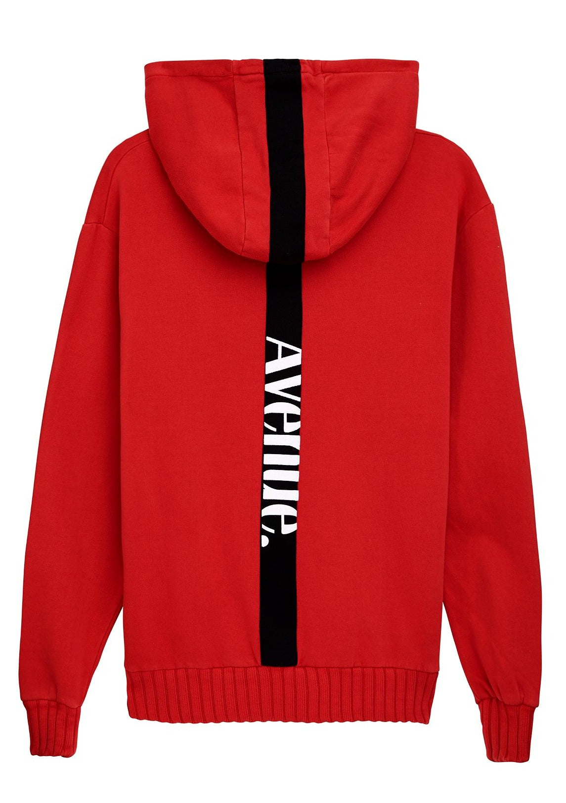 Terry Hoodie - Red - AVE Stripe