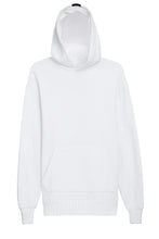 Terry Hoodie - White - AVE Stripe