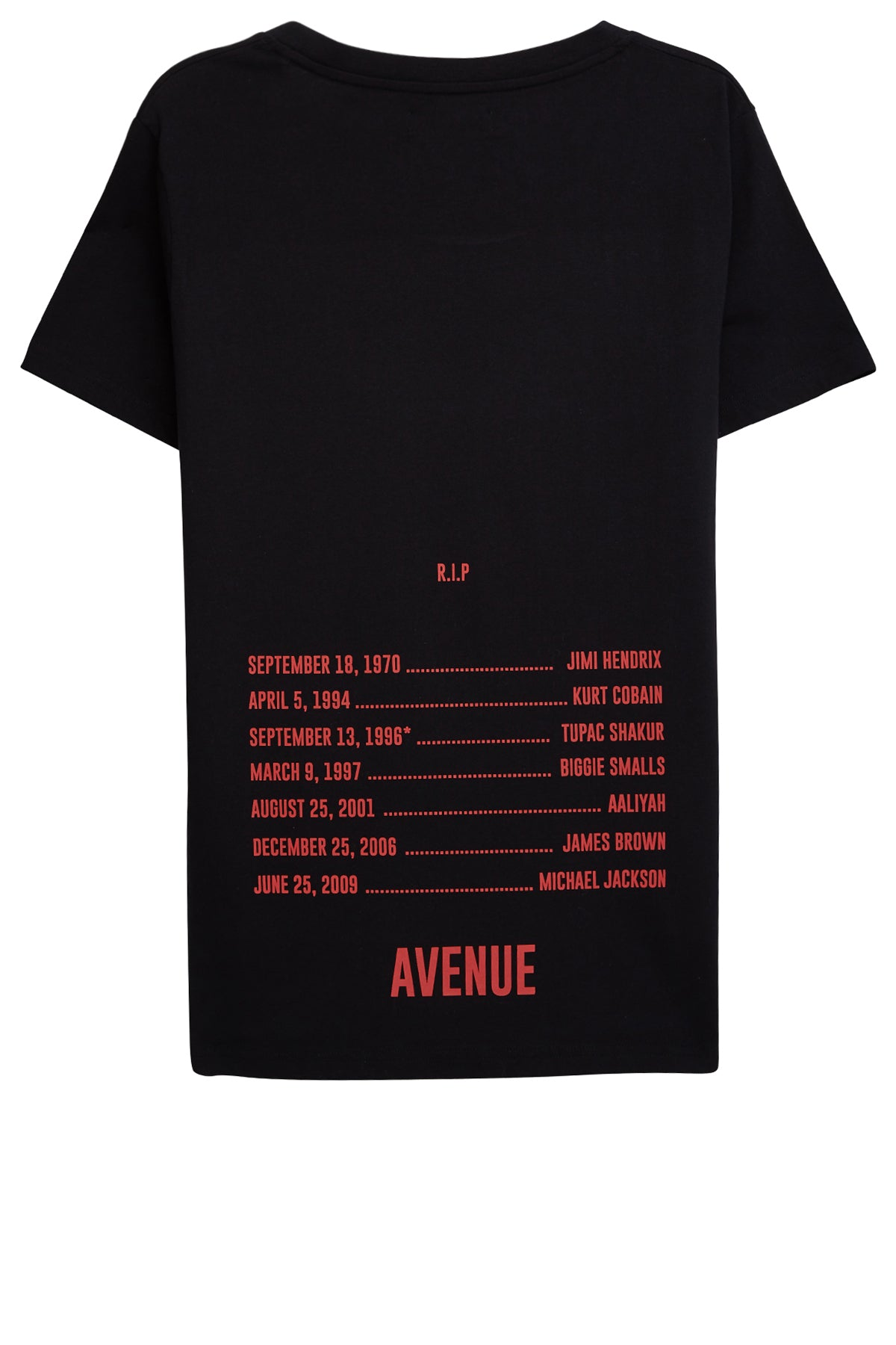 Avenue Lost Legends T-shirt - Black