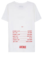 Avenue Lost Legends T-shirt - White