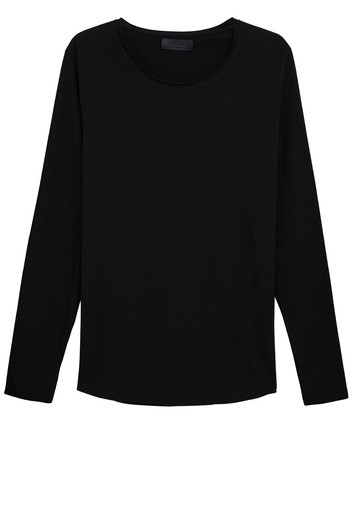 Longsleeve Cut Collar - Black