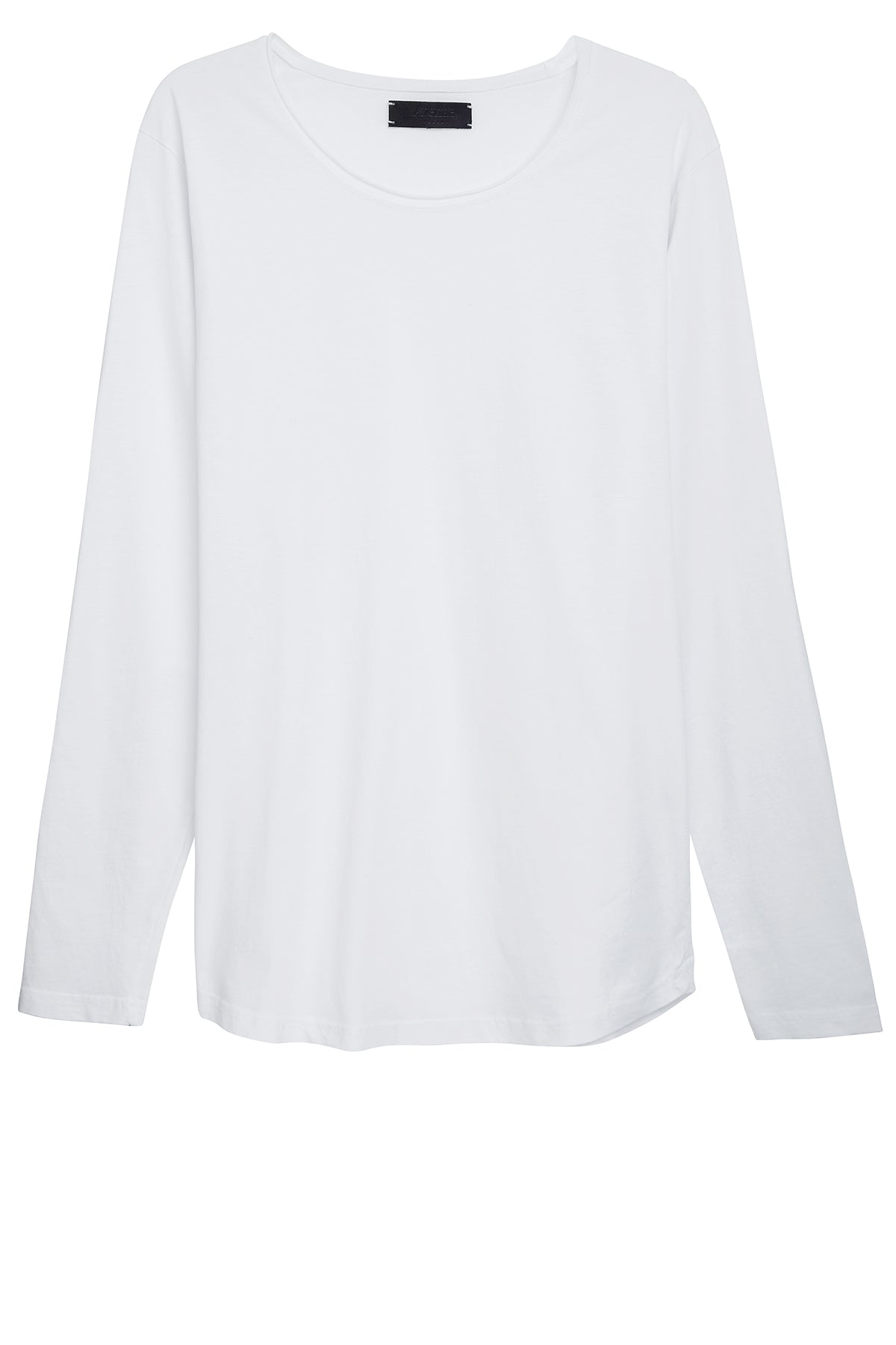 Longsleeve Cut Collar - White