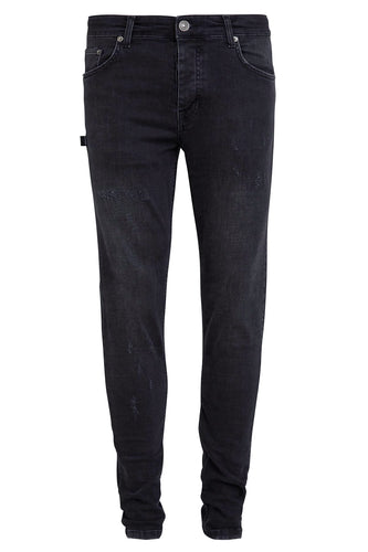 Retro Skinny Fit Jeans - Black Washed