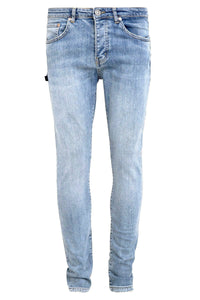 Retro Skinny Fit Jeans Light Blue