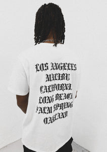 CALIFORNIA TEE WHITE