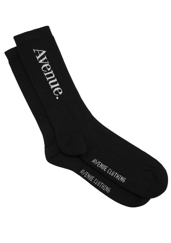 Basic Socks Black - White - One Size
