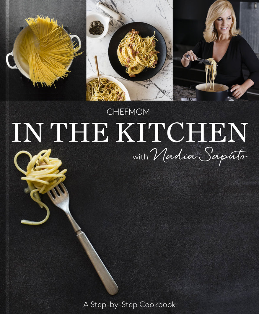 In the kitchen with Nadia Saputo ChefMom