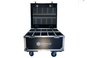 Road Case Flight Case Uplighting ColorKey Par Can