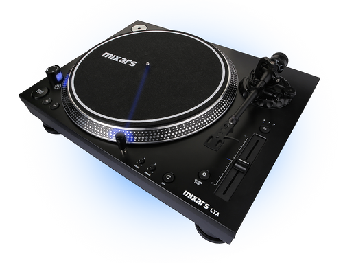 Mixars Turntable LTA Dj Armor Deck Straight Arm High Torque