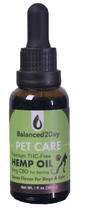 Load image into Gallery viewer, PET CARE Hemp OIL - Bacon Flavor 250mg
