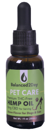PET CARE Hemp OIL - Bacon Flavor 250mg