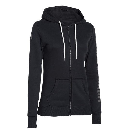 UNDER ARMOUR DAME RIVAL STORM FULL ZIP HÆTTETRØJE