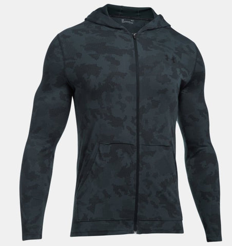 Men's UA Threadborne Fitted Full Zip Hoodie