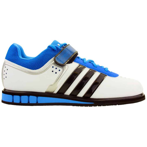 ADIDAS Weightlifting shoes POWERLIFT.2 (white/blue)