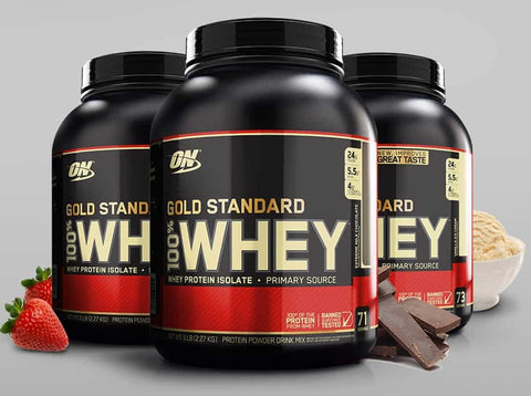 Optimum Nutrition - Standard Gold Whey 900 g