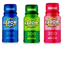 Bodylab KAPOW! Pre Workout Shot (6x60 ml)