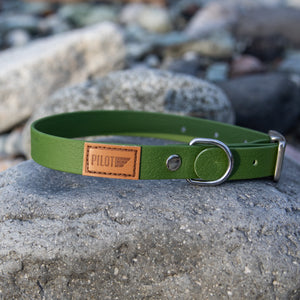 Waterproof collar - Mossy Green