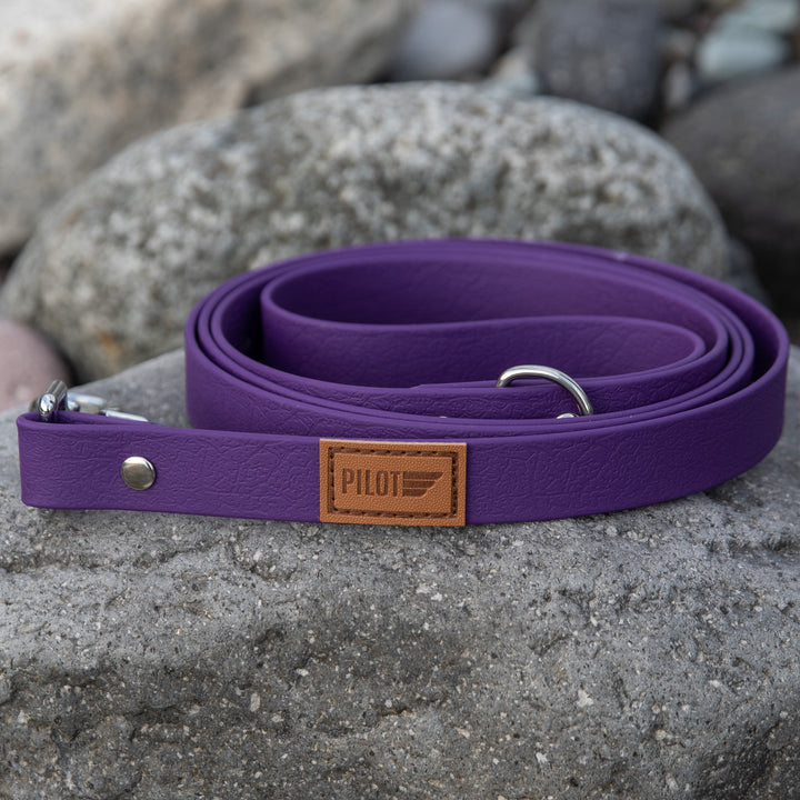 Waterproof Leash - Purple