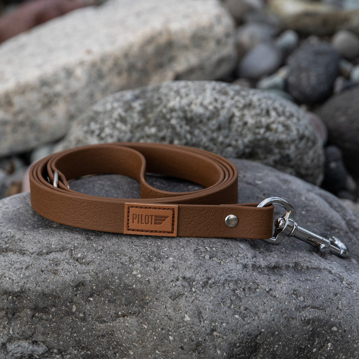 Waterproof Leash - Dark Brown