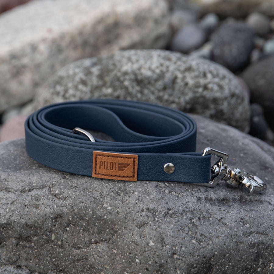 Waterproof Leash - Slate Blue