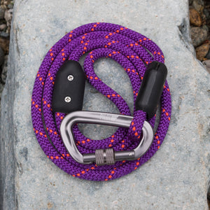 Violet Climbing Rope Leash