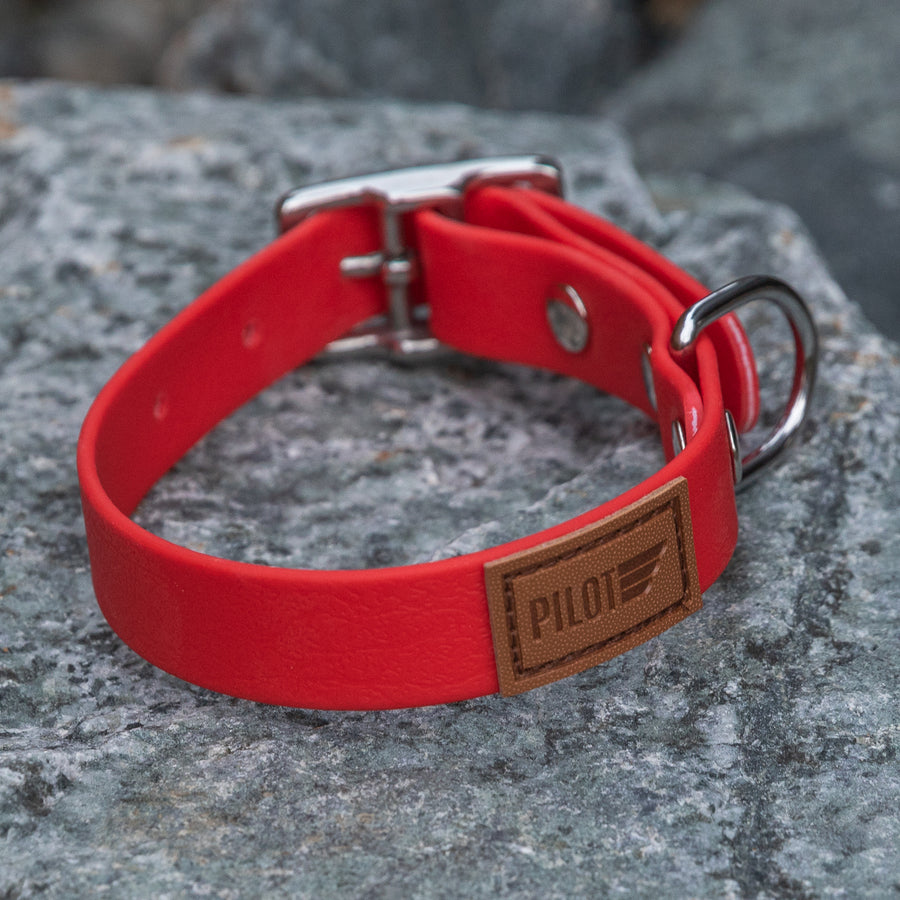 Waterproof collar - Red