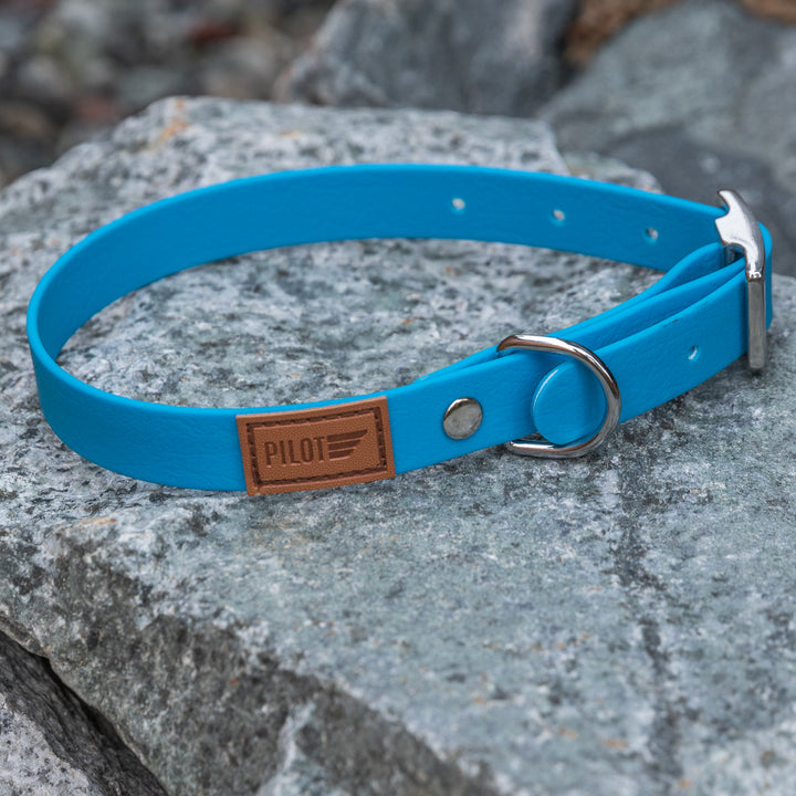 Waterproof collar - Sky Blue