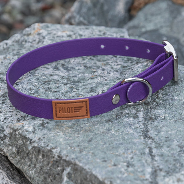 Waterproof collar - Purple