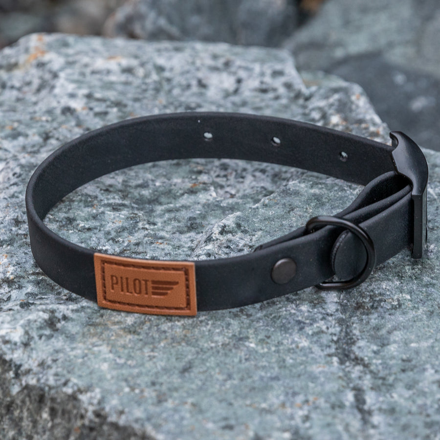Waterproof collar - Blackout