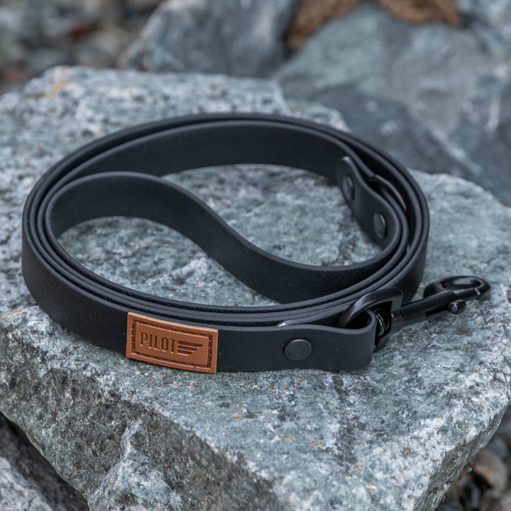 Waterproof Leash - Blackout