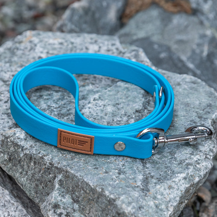 Waterproof Leash - Sky Blue