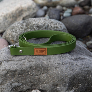 Waterproof Leash - Mossy Green