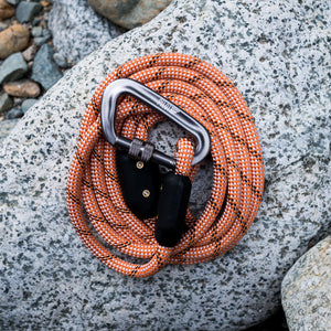 Peachy Keen Orange Climbing Rope Dog Leash