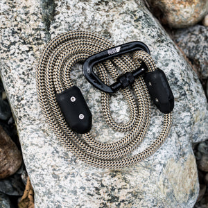 River Rock Grey Climbing Rope Dog Leash