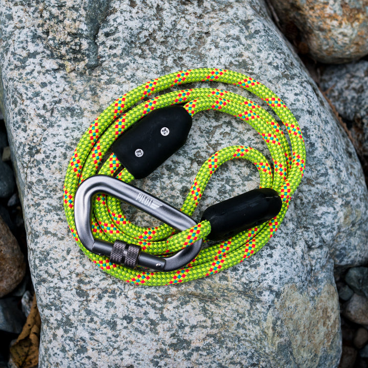 Electric Lime Climbing Rope Leash