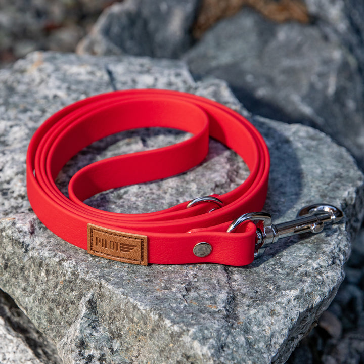 Waterproof Leash - Red