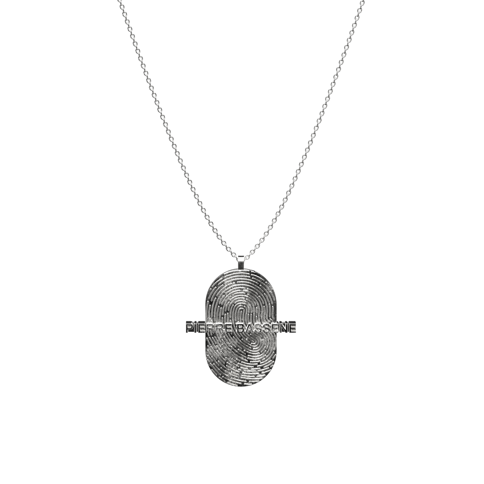 Fingerprint℗ Pendant Necklace