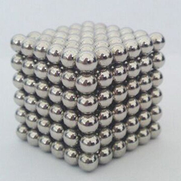 216 Pcs 3mm Multi Molding Education Toys Buckyballs - Silver