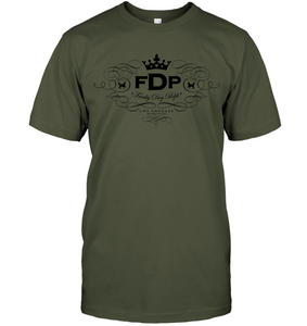 Unisex Fatigue Green Tee FDP Scroll