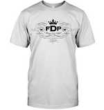 Unisex White Tee FDP Scroll