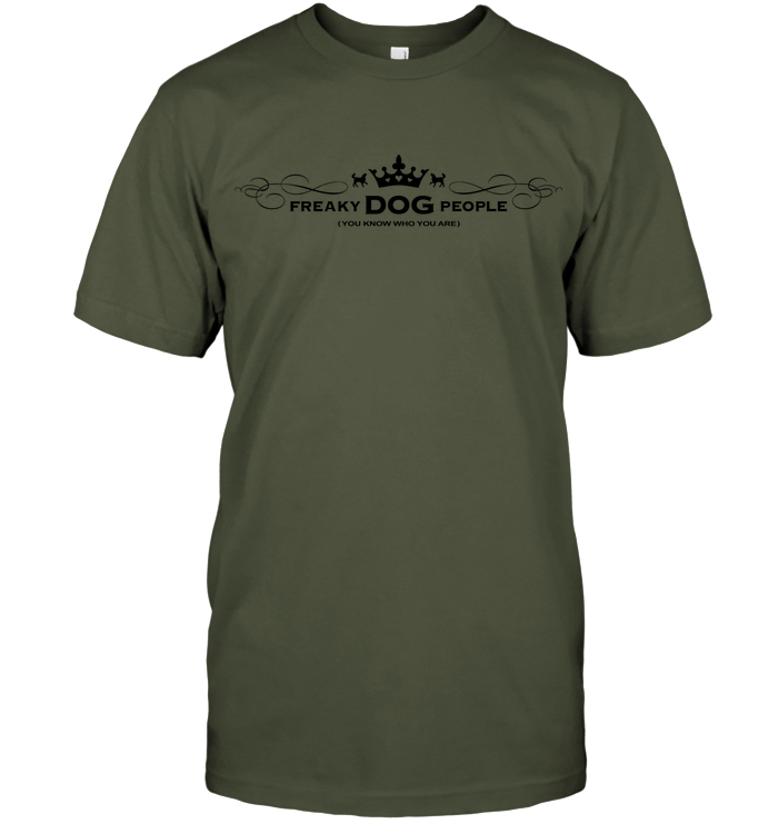 Unisex Tee Fatigue Green FDP (you know who you are)