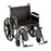 22 Inch Steel Wheelchair