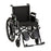 Steel Wheelchair with Detachable Arms