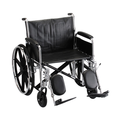 Detachable Steel Wheelchair
