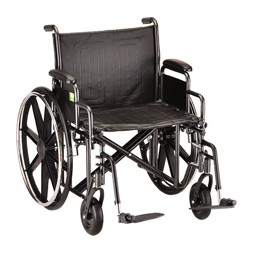 Wheelchair Detachable Arms And Footrests