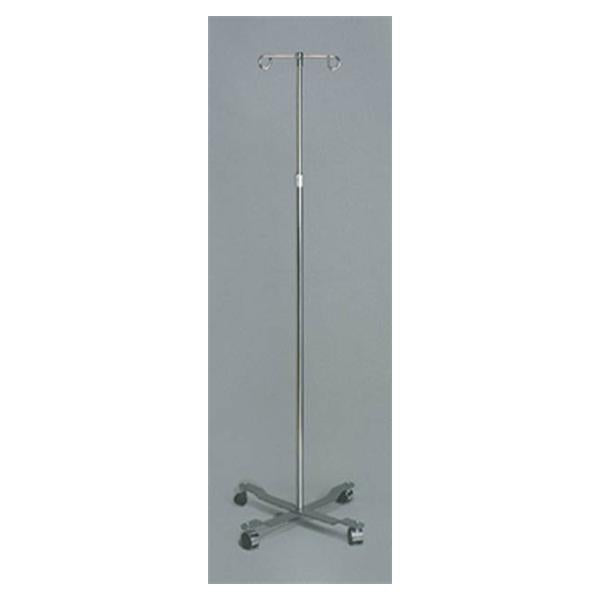 "Dukal oration Stand IV Dukal 47-84"" Chrome-Plated Steel Ea"