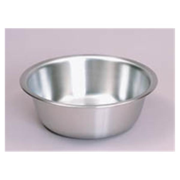 "Medegen Medical Products Basin Solution 7qt Stainless Steel 4-3/5x13-3/5"" Silver Ea"