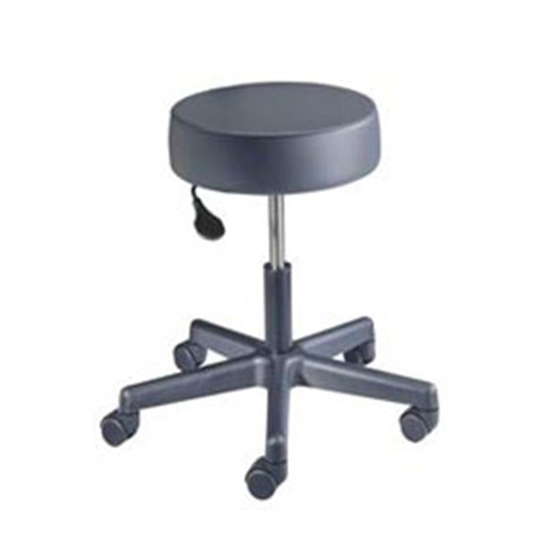 Brewer Company Stool Exam Value Plus Chocolate Casters Backless 5 Leg Ea