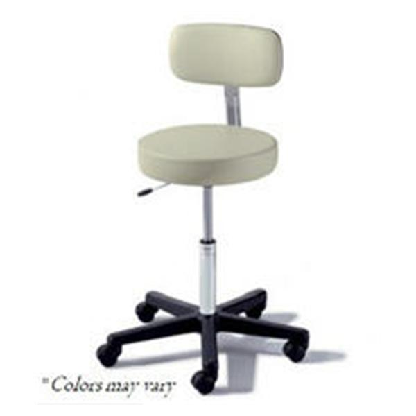 Midmark oration Stool Exam Ritter Value Series Belagio 5 Lg/Cstr Bckrst Blk BS Ea