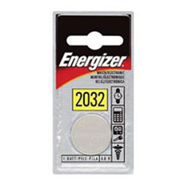 Eveready-Energizer Battery Lithium f/Calculator 3-Volt 6/Pk 6/Pk, 6 PK/CA (ECR2032BP)